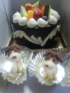記念日のケーキ2016